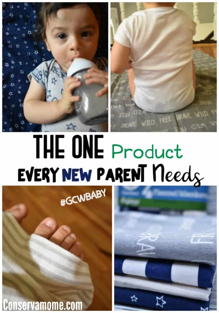Check out the one product every new parent needs and can get  thanks to the great new line of Gerber Brand Essentials at Walmart, made with organically grown cotton.