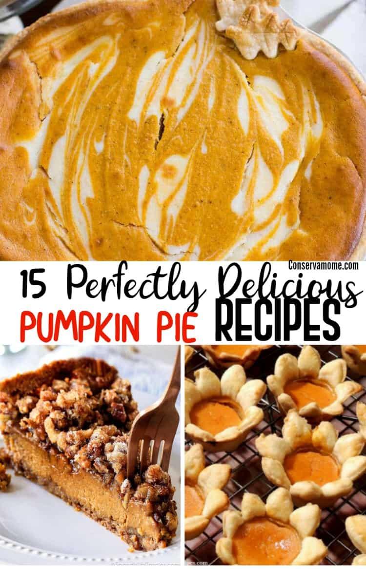 Delicious Pumpkin Pie recipes