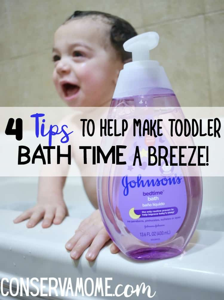 4 Tips to Help Make Toddler Bath time a breeze! #BJSSmartSaver