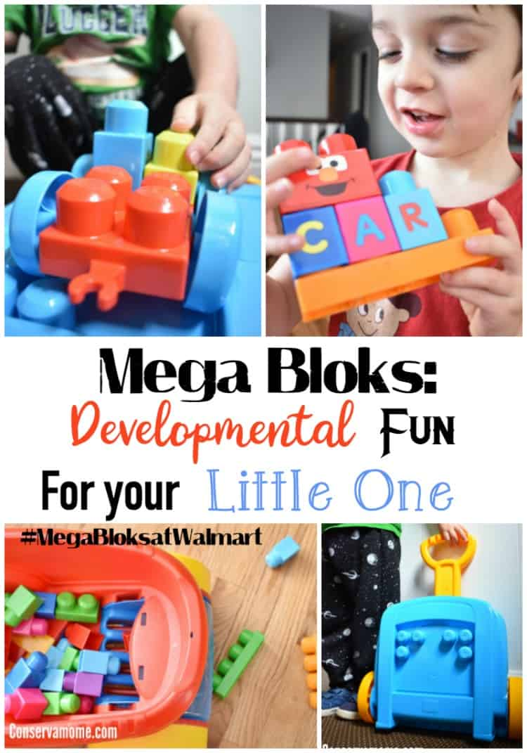 Find out How Mega Bloks are Developmental Fun For your Little One and why they're the perfect gift for any little one this Holiday Season.