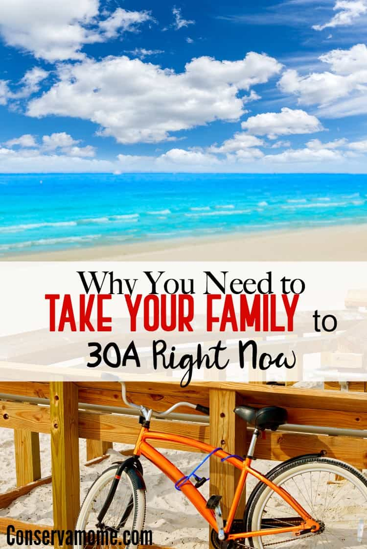 Find out Why You Need to Take Your Family to 30A Right Now a stretch of pristine coast in Northwest Florida.