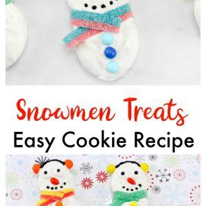 Snowmen Treats- Easy Cookie Recipe