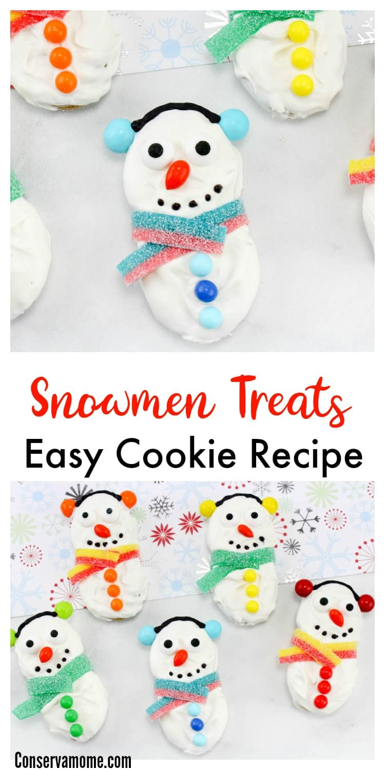 Looking for a fun and delicious winter treat? Check out these Snowmen Treats- Easy Cookie Recipe.