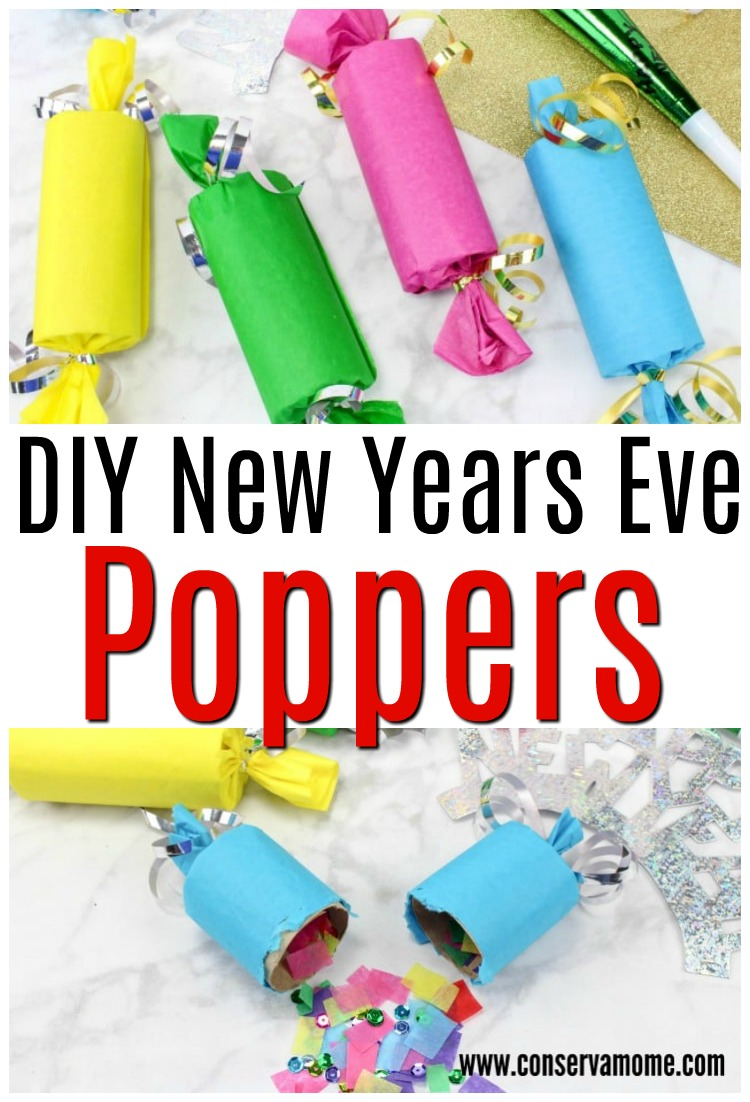 New Years Eve Poppers tutorial
