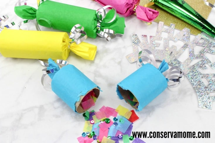 DIY New Years Eve Poppers