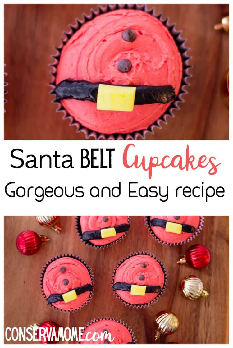 These Santa Belt Cupcakes are not just delicious but fun to make! Check out this gorgeous and easy recipe.