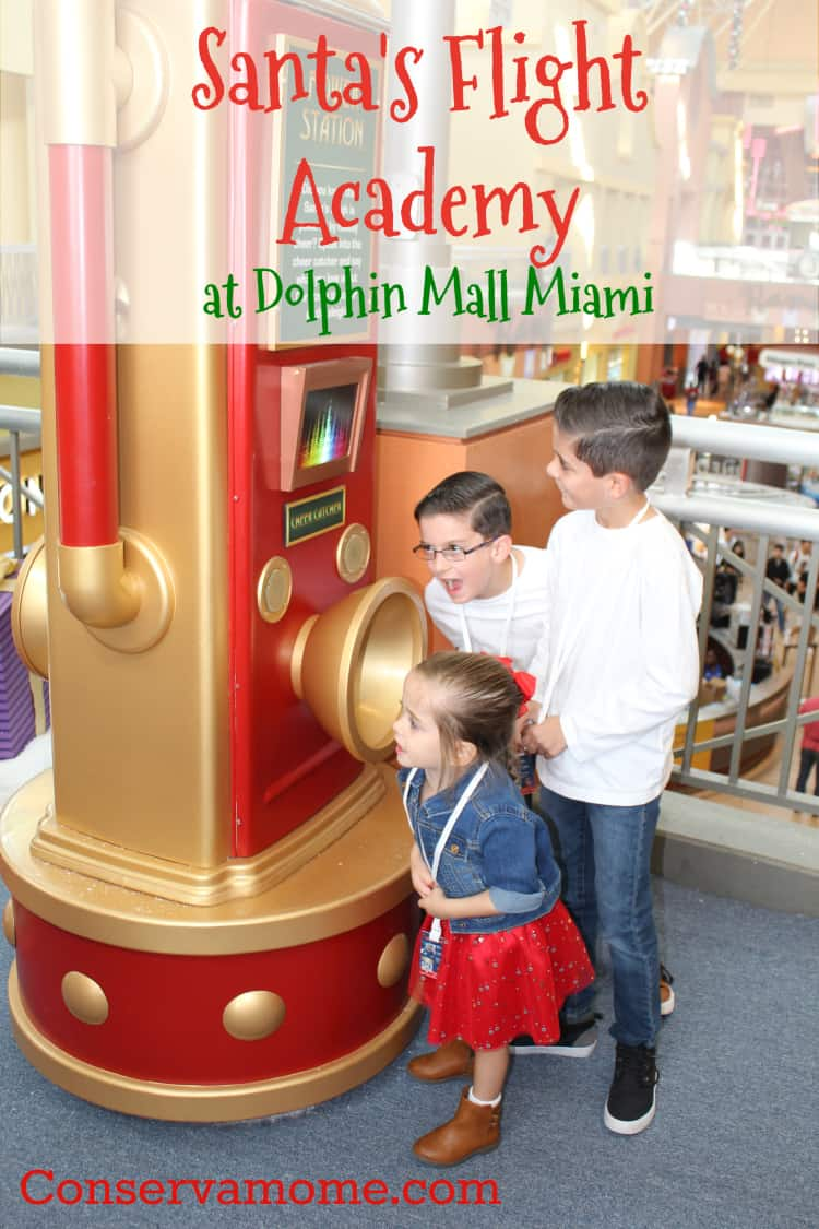 Find out how much fun you can have at Santa's Flight Academy at Dolphin Mall Miami