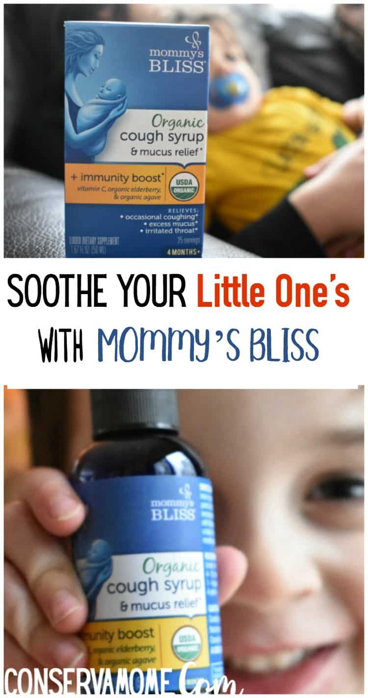 Check out how to soothe your little one's occasional cough, thanks to Mommy's Bliss Organic Cough Syrups.