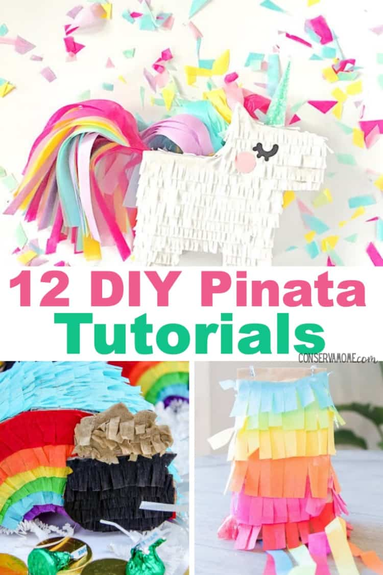 Check out this round up of 12 DIY Pinata Tutorials.This is a fun round up of creative Pinata tutorials for your next event!