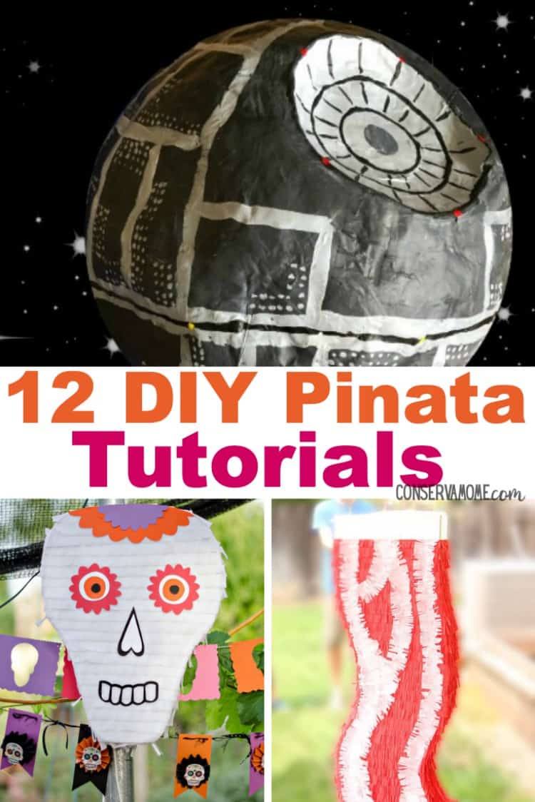 What's a party without a pinata in it? That's why I've search my favorite blogs for a fun round up of 12 DIY Pinata Tutorials. So read on to check out this fun round up of creative Pinata tutorials for your next event!