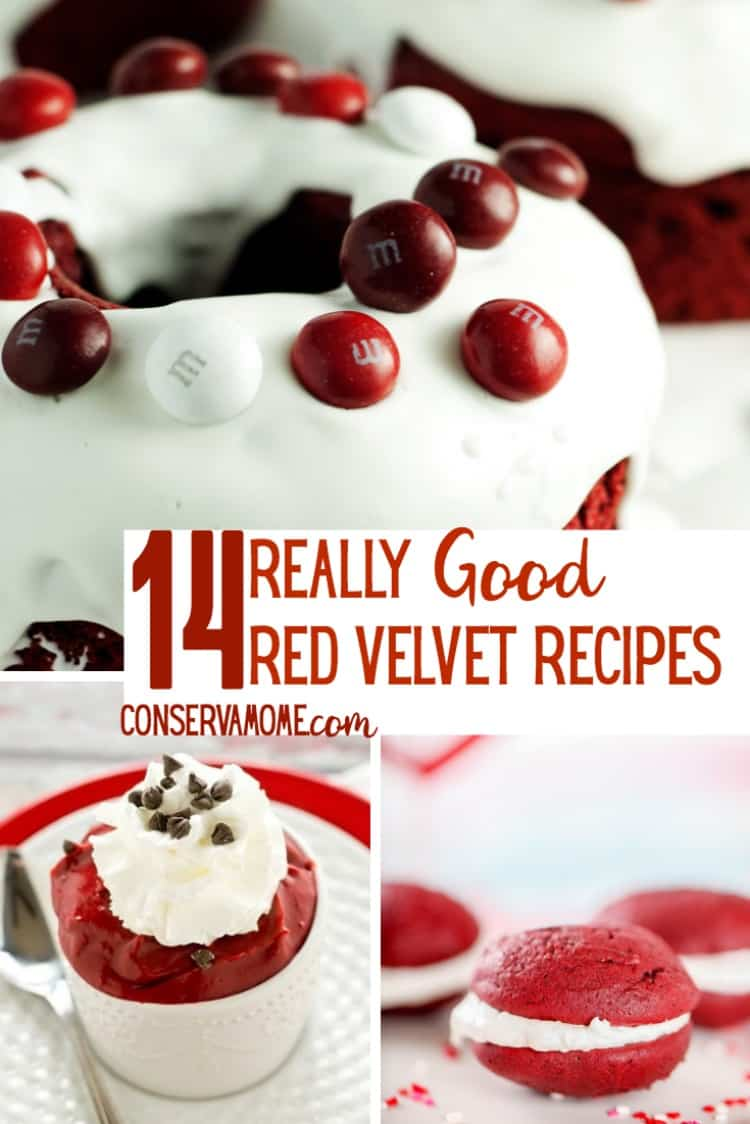 Do you love Red Velvet? Check out14 Really Good Red Velvet Recipes guaranteed to make your sweet tooth jump for joy!