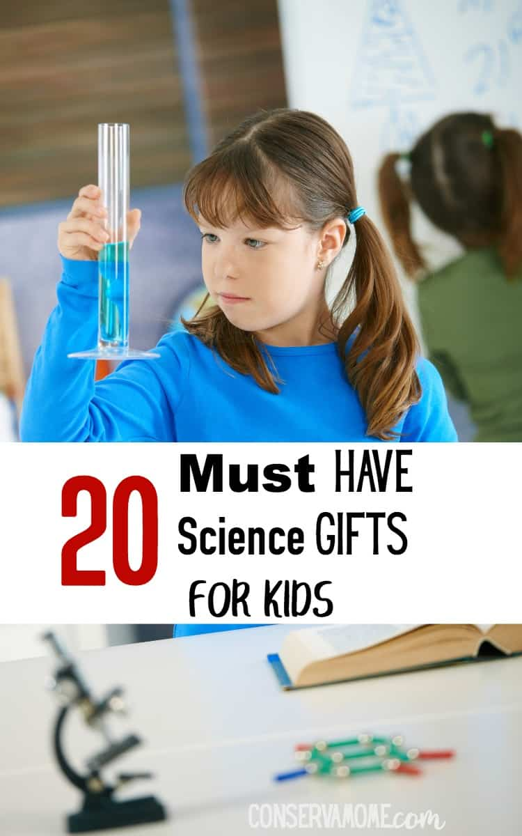 Ready to awaken the inner scientist in your child? Check out these20+ Must Have Science Gifts for kids