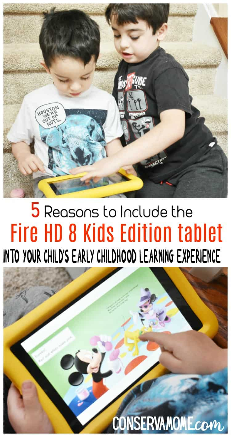 Get your child a step ahead of the game. Check out 5 Reasons to Include the @Amazon Fire Kids Edition Tablet Into Your Child's Early Childhood Learning Experience. #AmazonKidsAndFamily #IC