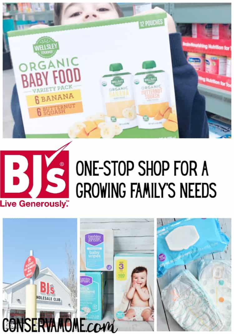 As your family grows grabbing everything you need at one place can be tough. Find out how BJ's is The One Stop-Shop for A Growing Family's Needs.