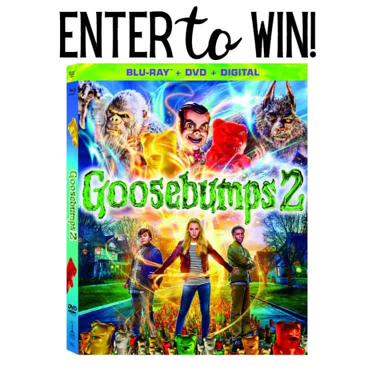 It's here the newGoosebumps 2 DVD+ Blu-Ray +Digital copy. Head below to find out more about it, check out some great extras and most important win you're own copy!