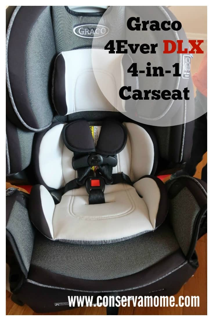 Find out why the @Gracobaby 4Ever DLX 4-in-1 Car Seat is Graco Review - ConservaMom