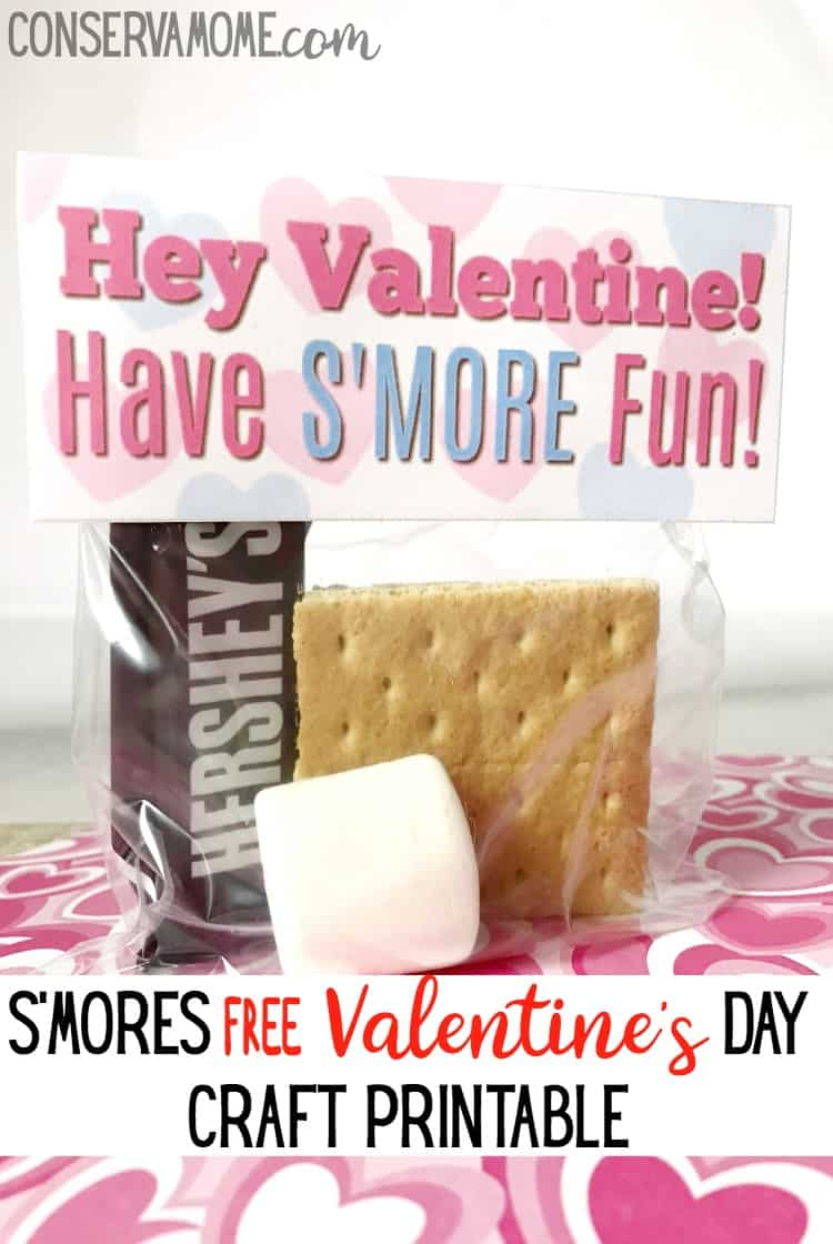 Valentine's Day crafts just got easier with this adorable S'mores Free Valentine's Day Craft Printable . Your kid's classmates will love these creative treats and you'll love how easy they are to make!