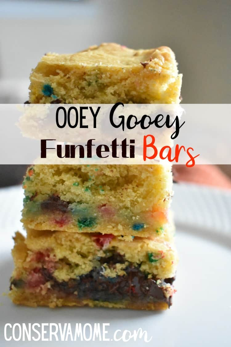 This Ooey Gooey Funfetti Bars recipe will become a favorite in your home. Read on to see how easy it is to make this ooey gooey delicious dessert!
