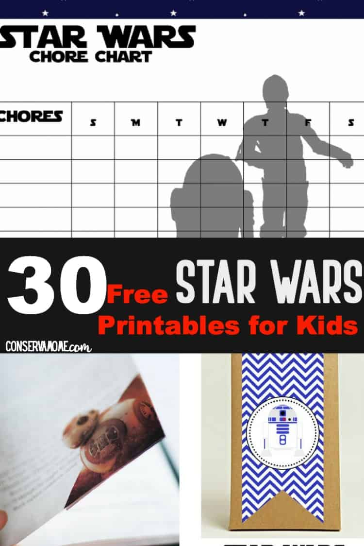 Do you have a kido who loves star wars? Make their day special with a collection of 30 Free Star Wars Printables for kids. Including fun lunch notes, jokes and more!
