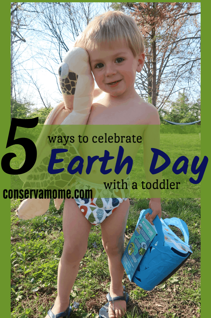 It's important to teach our children about Earth Day. It's never too young to start. Check out 5 Ways to Celebrate Earth Day with a Toddler.