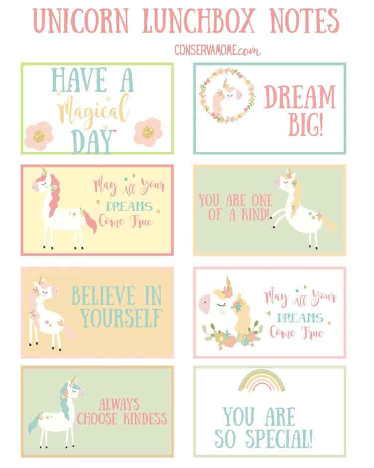 Are you or someone you know head over heels with unicorns? Here's an amazing Unicorn Collection for you! This fun collection includes Free Printable Unicorn LunchBox Notes + Unicorn Book Marks + Unicorn Gift Ideas. So read on to check out this glorious Unicorn collection.