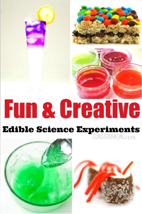 Fun & Creative Edible Science Experiments