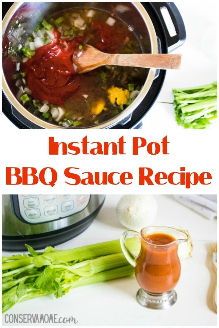 Homemade Instant pot bbq sauce recipe, Homemade BBQ sauce recipe