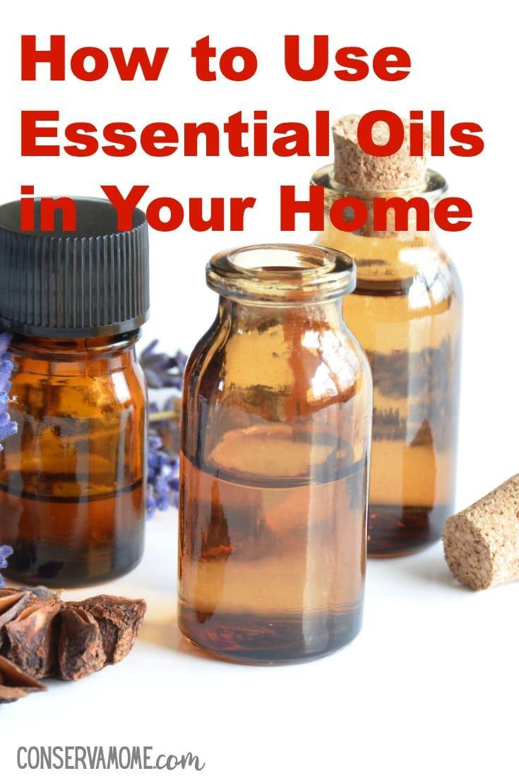 Using Essential oils in your home.