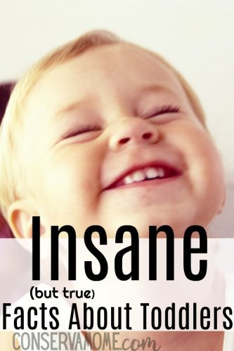 Insane but true facts about toddlers