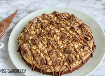 Peanut Butter Chocolate Brownie Cake Recipe