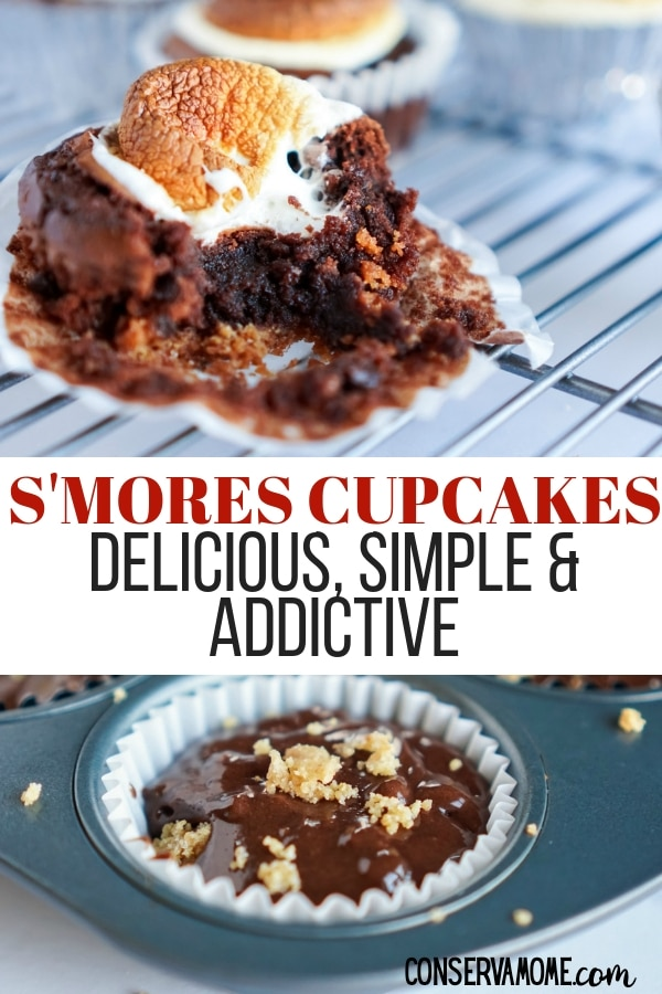 S'mores cupcakes are delicious simple and addictive