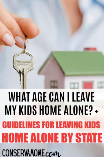 Leaving kids home alone