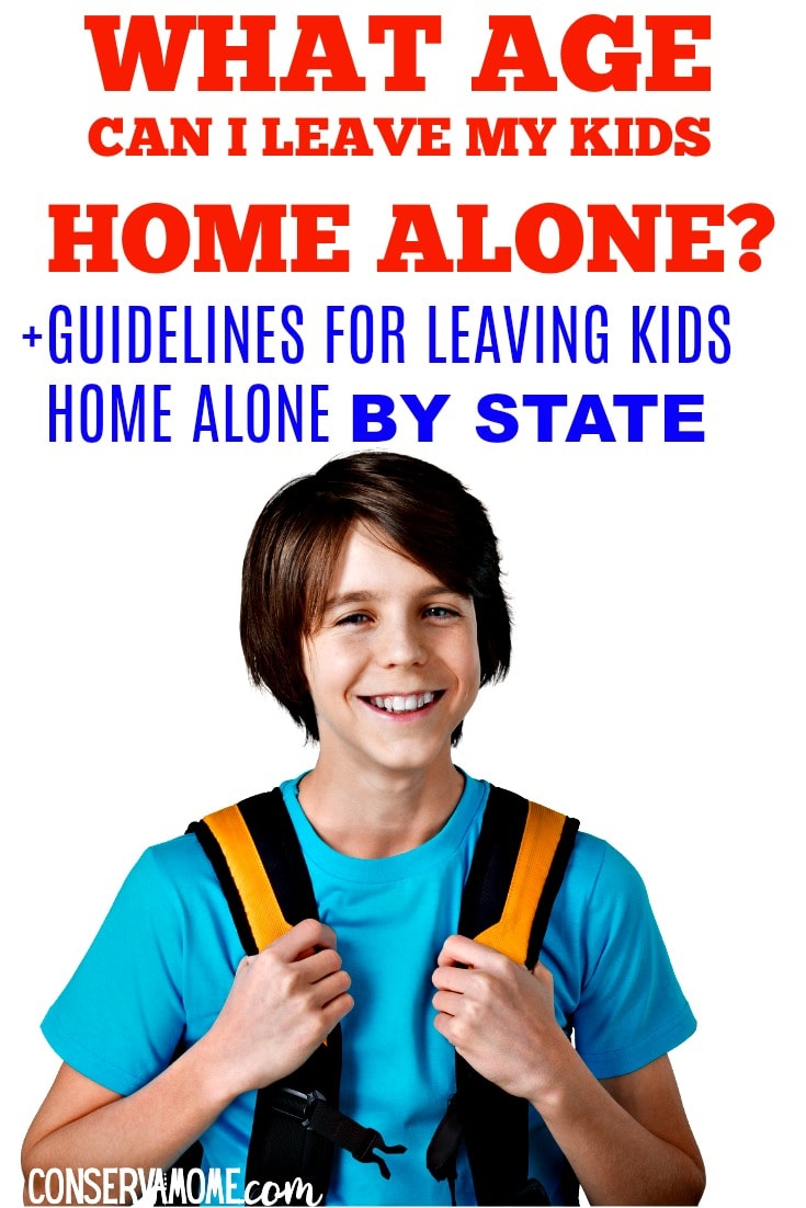What age can I leave my kids home alone_ Guidelines for leaving kids home alone by state
