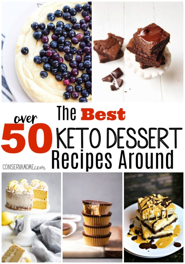 If you're following a Keto Diet or Low Carb diet then you've come to the right place. Check out over 50 of the best Keto dessert recipes around.