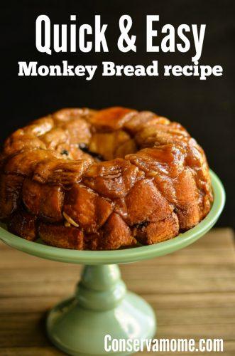 Easy monkey bread recipe