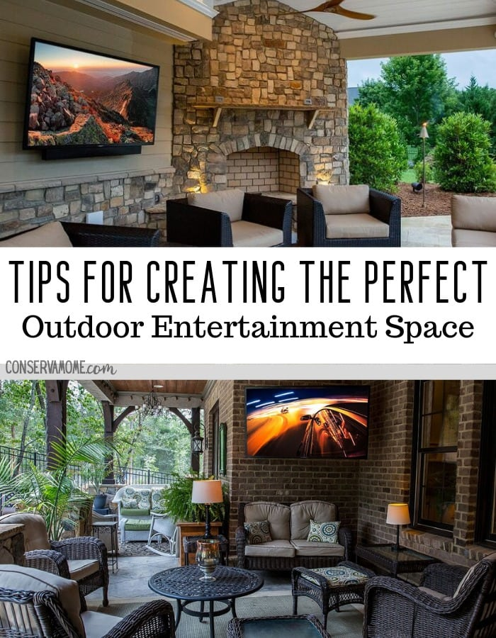 Tips for Creating the perfect outdoor entertainment space