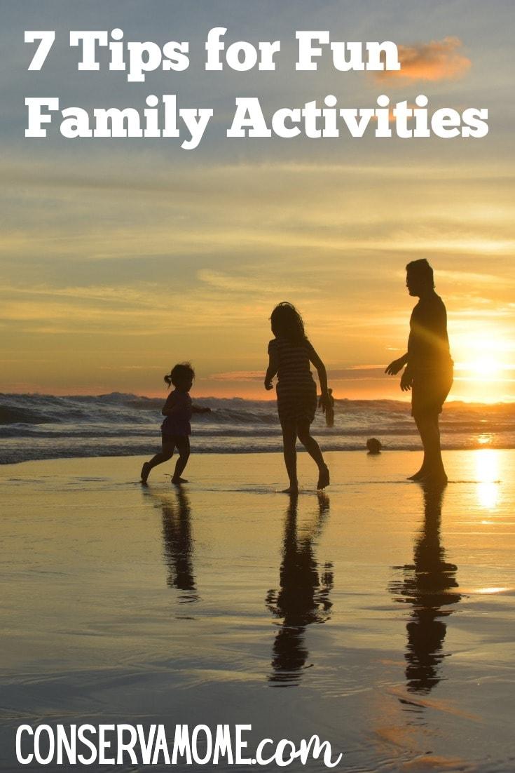 Tips for family fun