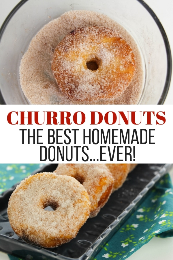 Churro donuts the best homemade donuts ever