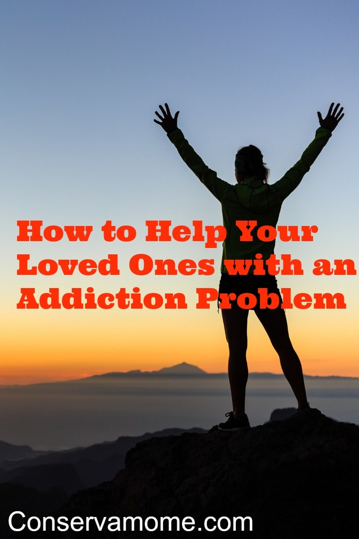 Helping loved ones with an addiction problem