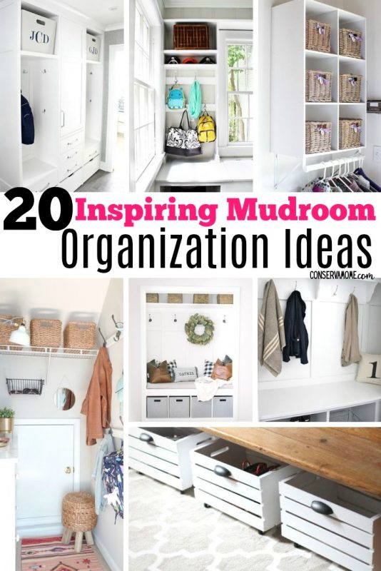 Inspiring Mudroom Organization ideas