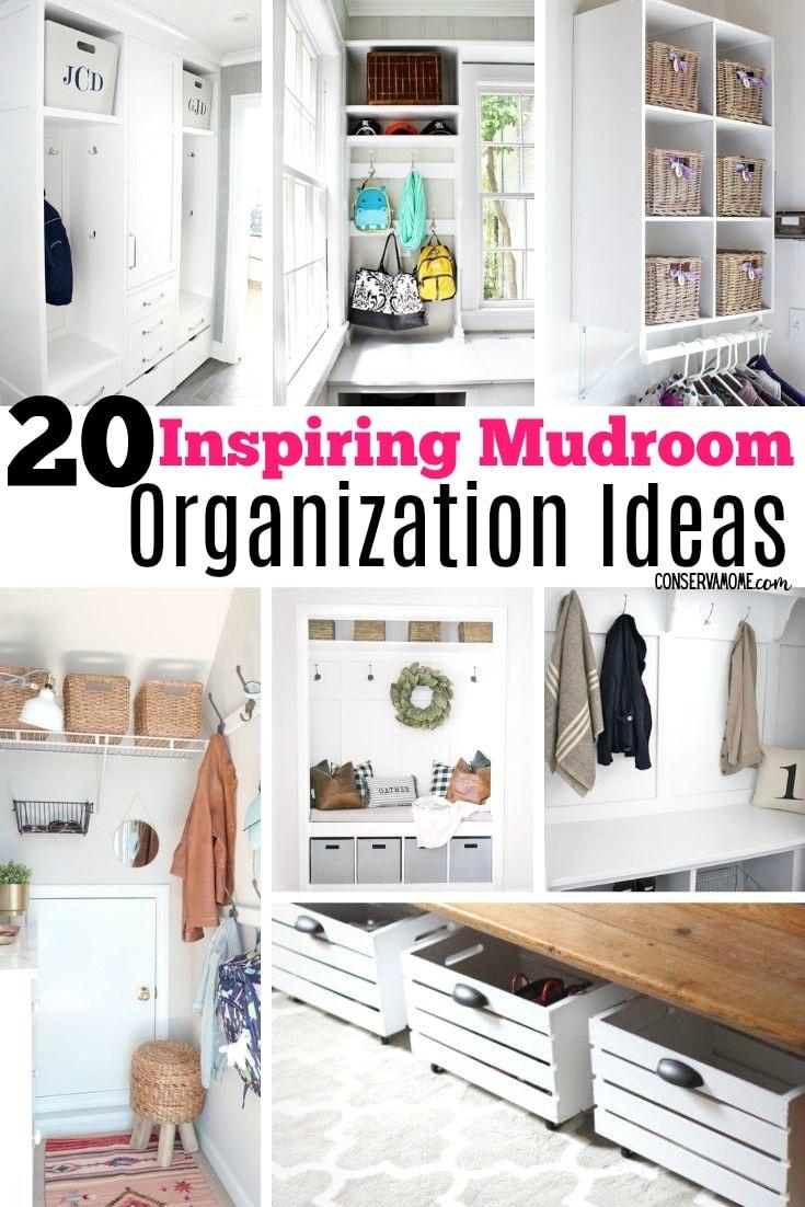 Inspiring Mudroom Organization ideas