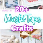 20+ Washi tape crafts