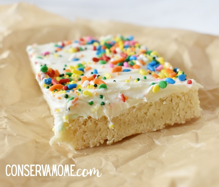 Chewy Homemade Sugar Cookie Bars