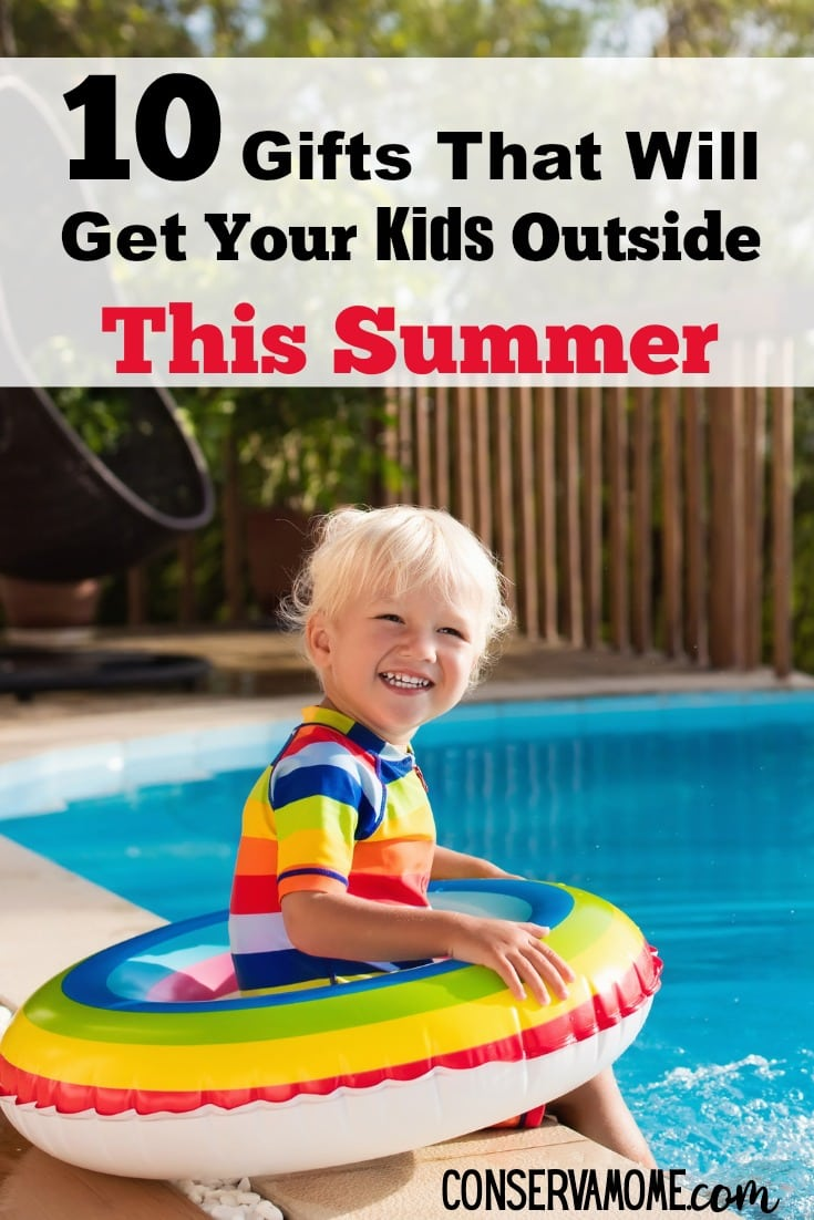 Get your kids outside this summer