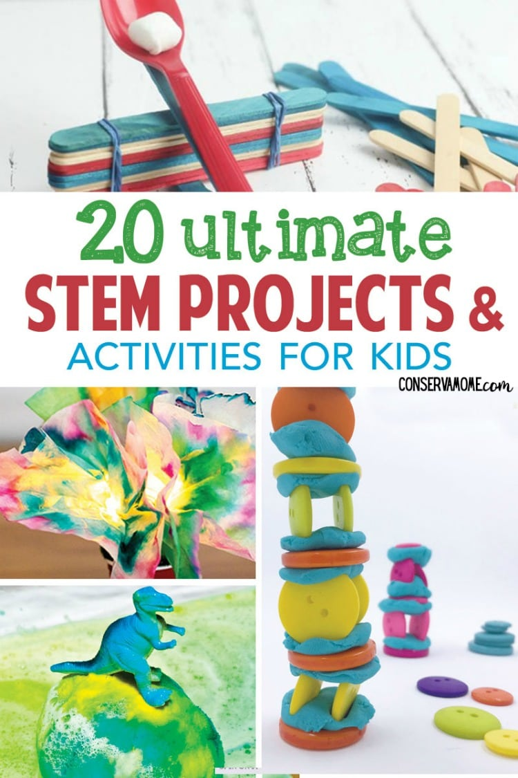 Conservamom 20 Ultimate Stem Projects Activities For Kids Conservamom