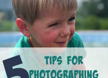 Tips for Photographing a Toddler