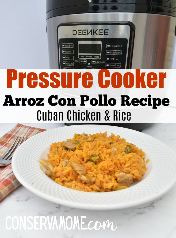 Pressure Cooker Arroz Con pollo recipe