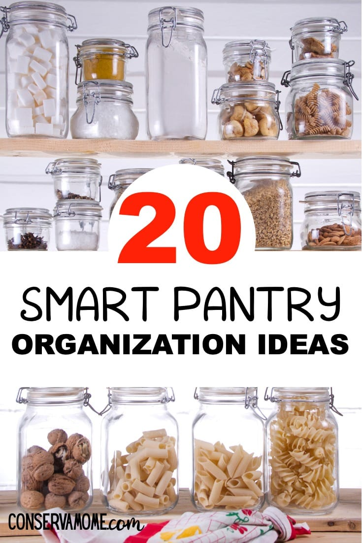 20 pantry organization ideas