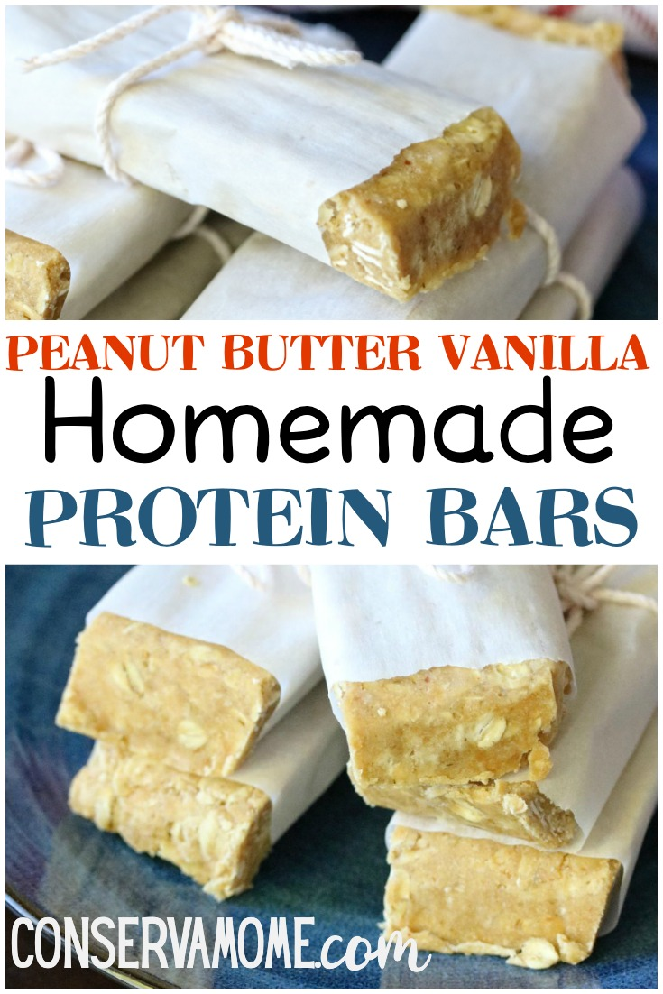 Homemade protein snacks