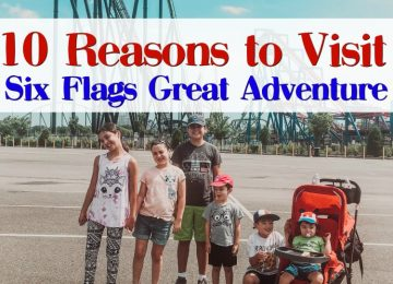 10 Reasons to visit Six Flags Great Adventure